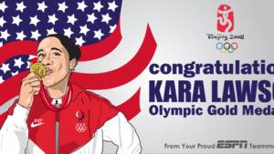 Olympic Banner | Kara Lawson