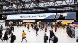 2015 AMAZON Kindle : Waterloo Station