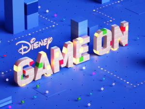 DISNEY GAME ON Re-Brand