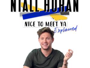 Niall Horan: Nice to Meet Ya: Explained