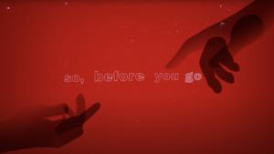Lewis Capaldi – 'Before You Go Lyric' Video